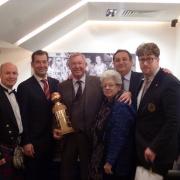 Robert Burns International Foundation-Sponsor of the Year 2013